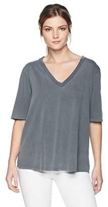 Stateside Women's Oversize V-Neck T-Shirt