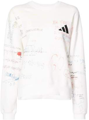 Yeezy Season 5 handwriting crew sweater
