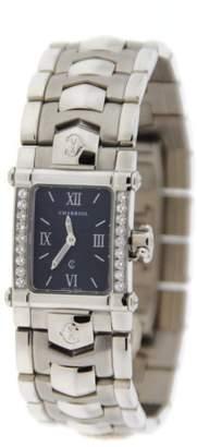 Charriol Columbus INTR Stainless Steel Diamond Womens Watch