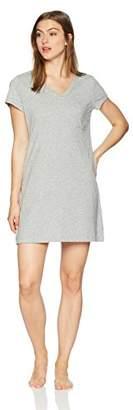 Nautica Women's Basic Knit V-Neck Sleepshirt