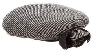 Miu Miu Wool Stripe Beret
