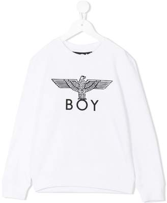 Boy London Kids logo print sweatshirt