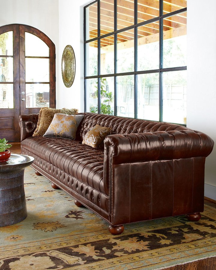Old Hickory Tannery Executive Sofas