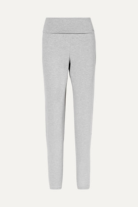 Hanro Yoga Lounge Stretch-modal Pants - Gray
