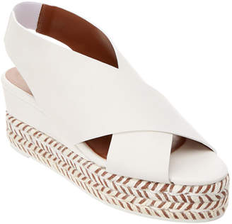 Aquatalia Jaida Waterproof Leather Wedge Sandal