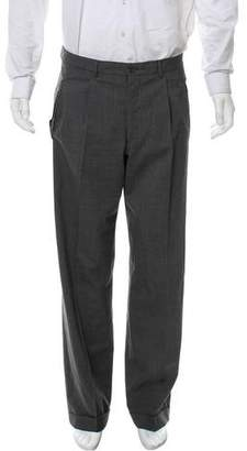 Giorgio Armani Cropped Wool Pants