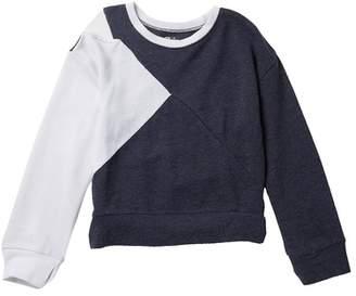 Zella Z by Split Shoulder Fleece Pullover (Little Girls & Big Girls)