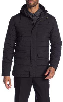Scotch & Soda Quilted Hooded Jacket