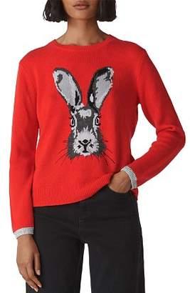 Whistles Intarsia Bunny Sweater