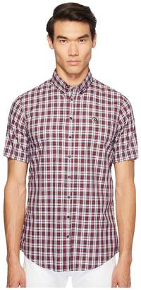 DSQUARED2 Street Ska Check Shirt Men's Clothing