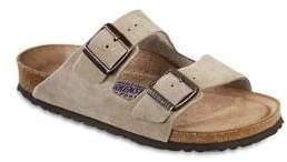 66e3c70ac96 Birkenstock Arizona Suede Double-Strap Sandals