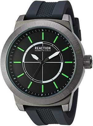Kenneth Cole Reaction Men's 'Sport' Quartz Metal and Silicone Casual Watch