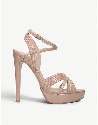 e5dbce289778 Kurt Geiger Sammy patent strappy sandals