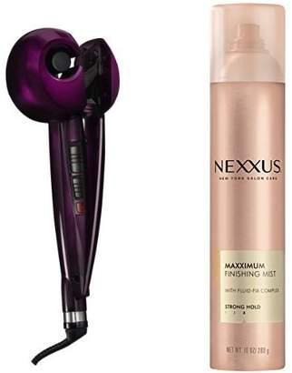 Conair Infiniti Pro Curl Secret Curling Iron and Nexxus Finishing Mist Hairspray