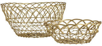H&M Large wire basket - Gold
