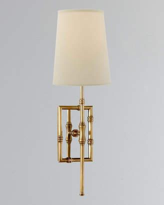 Modern Bamboo Visual Comfort Grenol Single-Light Sconce