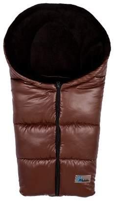 Altabebe Winter Footmuff Car Seat (Brown/Black)