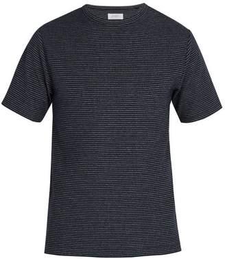 Saturdays NYC Brandon Striped T Shirt - Mens - Blue