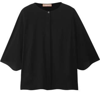 Michael Kors Collection - Silk Shirt - Black $750 thestylecure.com