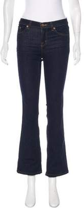 J Brand Starless Mid-Rise Bootcut Jeans