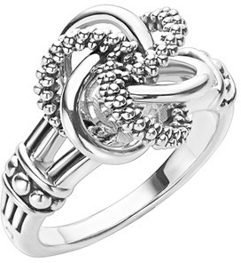 Women's Lagos 'Love Knot' Ring $250 thestylecure.com