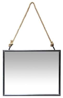 Infinity Instruments Farmhouse Square Mirror - 15W x 19H in.