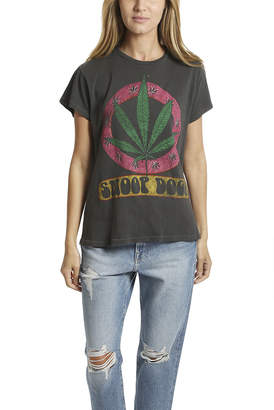 madeworn rock MadeWorn Snoop Dogg Leaf Tee