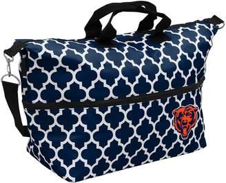Logo Brand Chicago Bears Quatrefoil Expandable Tote