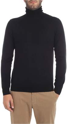Paolo Pecora Black Turtle Neck Sweater