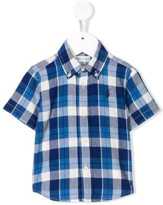 Ralph Lauren checked polo shirt