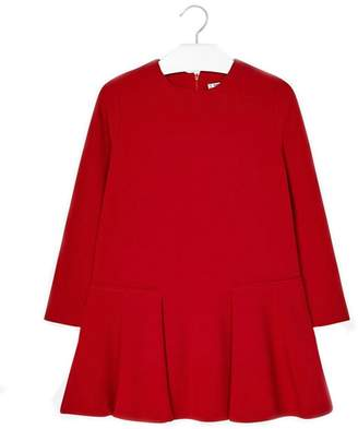 Mayoral Red Crepe Dress