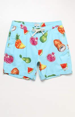 "Modern Amusement Fruta 17"" Swim Trunks"