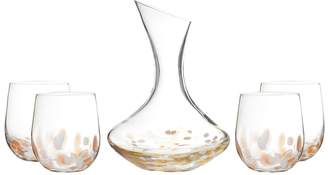 Fitz & Floyd Simone Glassware Set (5 PC)