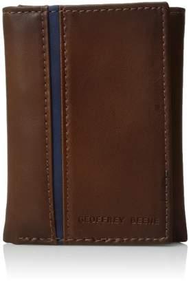 Geoffrey Beene Men's Stitched Trifold Wallet
