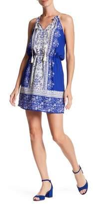 Collective Concepts Print Tassel Dress