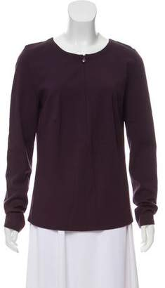 Akris Punto Fitted Long Sleeve Tunic