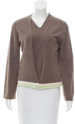 Chanel Long Sleeve Cashmere Cardigan Set