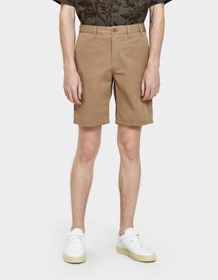 Norse Projects Aros Light Twill Shorts in Sand