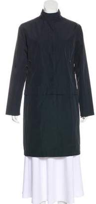 Moncler Lightweight Knee-Length Coat