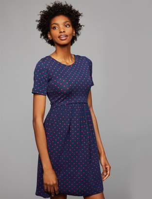 A Pea in the Pod Envie De Fraise Lift Up Mock Layer Nursing Dress