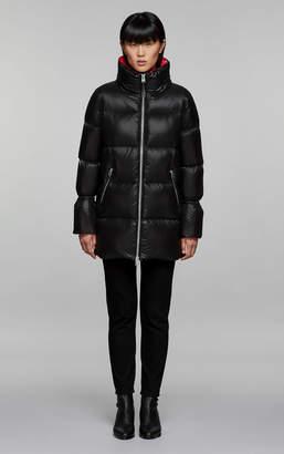 Mackage AIKO straight-fit lightweight down jacket with hidden hood
