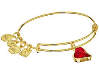Alex and Ani Charity By Design Heart Of Strength Bangle - (PRODUCT)RED