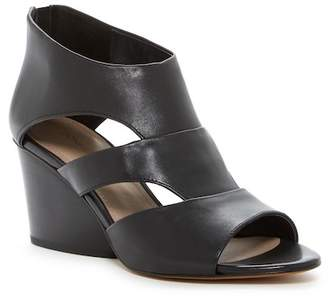 Donald J Pliner Jenkin Leather Wedge Sandal