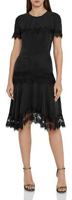 Reiss Kelis Lace-Trimmed Dress