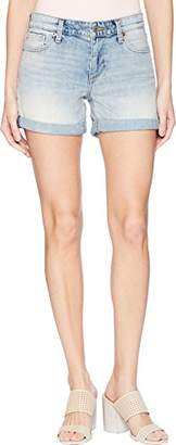 Lucky Brand Women's MID Rise ROLL UP Jean Short in