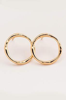 Gorjana Gold Circle Studs