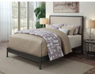 Laurel Foundry Modern Farmhouse Braswell Queen Upholstered Panel Bed
