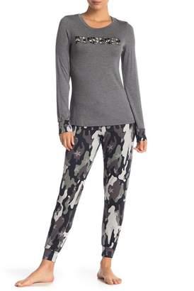 Couture Curvy Wanderer Sleepshirt & Jogger Set