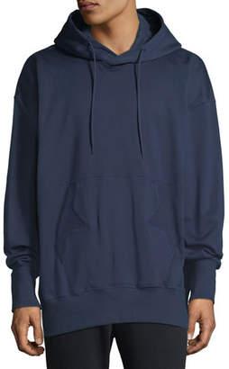 Y-3 Men's Stacked Logo Graphic Hoodie Sweatshirt
