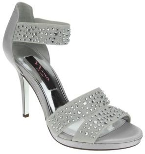 Nina Rosmira Satin High-Heel Sandals